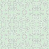 Unlimited vector pattern in a romantic style. The unlimited pattern of flowers for your romantic design. Good for paper print and backgrounds of greeting cards stock illustration