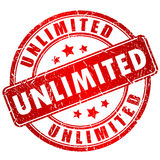 Unlimited vector stamp Royalty Free Stock Image