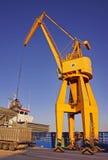 Unloading Cargo royalty free stock photos