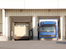Unloading dock Stock Photography
