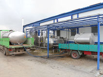 Dairy plant Stock Images