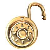 Unlock. 3D illustration vector illustration