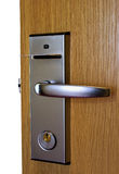 Unlock door Royalty Free Stock Photos