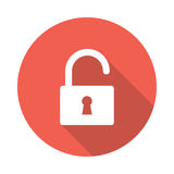 Unlock icon Royalty Free Stock Image