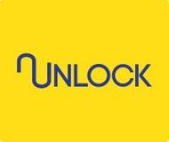 Unlock Logo Design Royalty Free Stock Photo