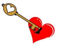 Unlock my heart Stock Images