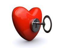 Unlock My Heart Stock Photo