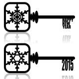 Unlock New Year Royalty Free Stock Photo