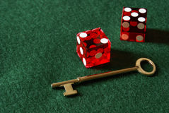 Unlock Success. Unlocking success in the gambling sector is one of chance, skill, and luck stock images