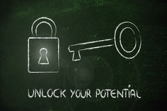 Unlock your potential Stock Photography