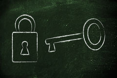Unlock your potential Stock Photo