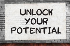 Free UNLOCK YOUR POTENTIAL Royalty Free Stock Photo - 72740595