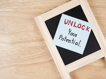 Unlock your potential 1 Royalty Free Stock Photos