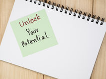 Unlock your potential 4 Royalty Free Stock Images