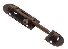 Unlockable bolt latch Stock Images