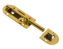 Unlockable bolt latch Royalty Free Stock Photo