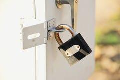 Unlocked door Stock Photography
