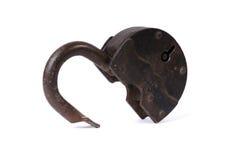 Unlocked lock Royalty Free Stock Photo