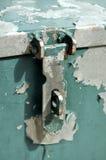 Unlocked metal box Stock Photo