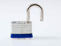 Unlocked Padlock Stock Photos