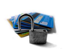 Unlocked and unsafe pin - identity theft 02 Royalty Free Stock Photography