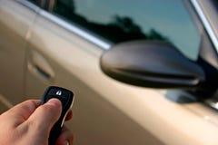 Unlocking Car Royalty Free Stock Image