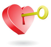 Unlocking The Heart Stock Photography