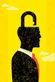 Unlocking the mind Stock Images