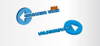 Unlocking Value, Return on Investment. Target Stock Photos