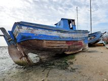 Unloved boat Stock Photography
