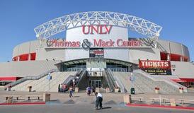 UNLV托马斯& Mack中心标志 图库摄影
