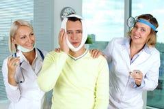 Unmögliche Zahnschmerzen Stockfotografie