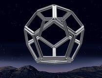 Unmögliches dodecahedron vektor abbildung