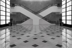 Unmögliches Treppenhaus. lizenzfreie stockfotografie
