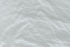 Unmade bed sheet texture Stock Image