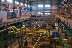 unmanned отделять фабрики воздуха Стоковые Изображения
