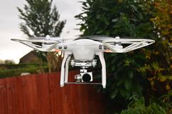 Unmanned aerial vehicle, drone Royalty Free Stock Image