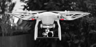Unmanned aerial vehicle, drone. Unmanned aerial vehicle, Areal Photography drone Royalty Free Stock Photo