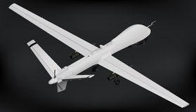 Unmanned aerial vehicle drone isometric Royalty Free Stock Photo