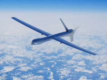 Unmanned aerial vehicle in the sky Royalty Free Stock Photography