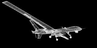 Unmanned Aerial Vehicle (UAV) Royalty Free Stock Image