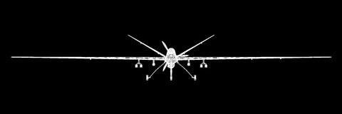 Unmanned Aerial Vehicle (UAV) Stock Photography