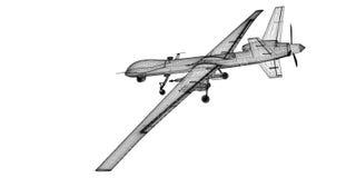 Unmanned Aerial Vehicle (UAV) Stock Image