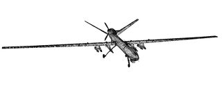 Unmanned Aerial Vehicle (UAV) Royalty Free Stock Photos