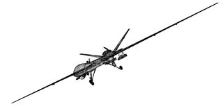 Unmanned Aerial Vehicle (UAV) Stock Image