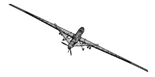 Unmanned Aerial Vehicle (UAV) Royalty Free Stock Photography