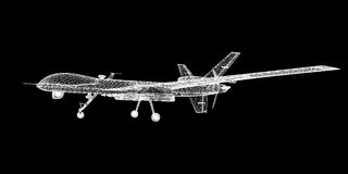 Unmanned Aerial Vehicle (UAV) Stock Photos