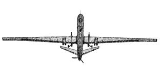 Unmanned Aerial Vehicle (UAV) Royalty Free Stock Images