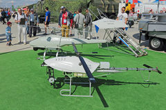 Unmanned aerial vehicles Royalty Free Stock Images