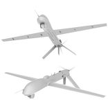 Unmanned air vehicle pack 1 Stock Image